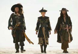 Captain Barbossa (Geoffrey Rush), Elizabeth Swan...erved.