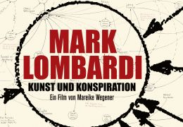 Plakat - Mark Lombardi - Kunst und Konspiration