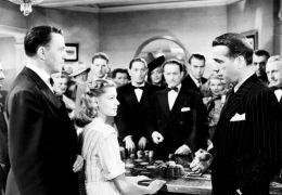 Lauren Bacall und Humphrey Bogart in 'Tote schlafen fest'