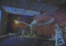 In einer Halle des New Mexico Museum of Natural...Reeve