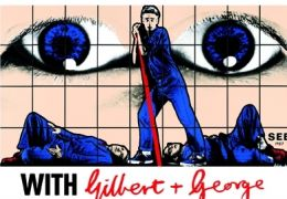 With Gilbert and George - Plakat
