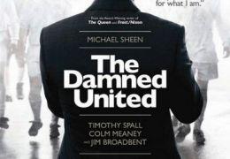 the damned united - plakat