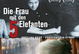 Die Frau mit den 5 Elefanten - Plakat