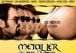 Metaller, die auf Brüste starren