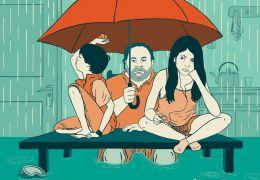 Tanta agua - Nichts als Regen - Plakat