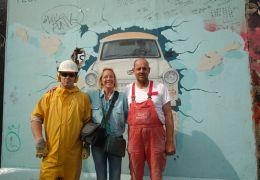 Berlin East Side Gallery - Malerin Birgit Kinder und...firma