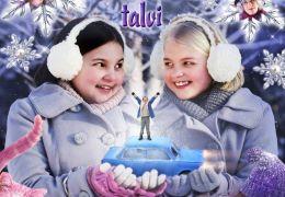 Onneli und Anneli im Winter