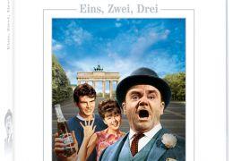 Eins, zwei, drei - DVD-Cover - United Artists Edition